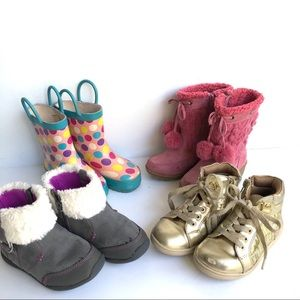 Other - TODDLER BOOT BOOTIE BUNDLE SIZE 7-8